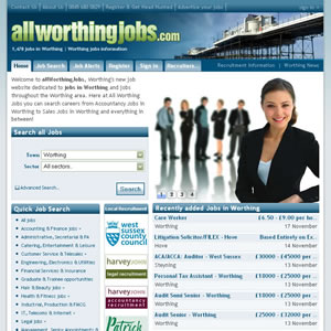 click here to visit All Worthing Jobs website
